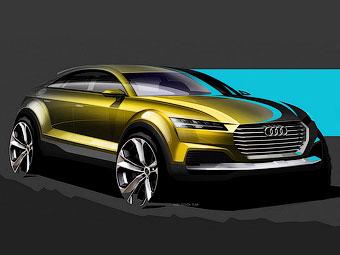 Компания Audi показала предвестника кроссовера Q4