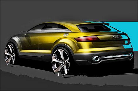 В Пекине дебютирует пятидверный концептуальный вседорожник Audi