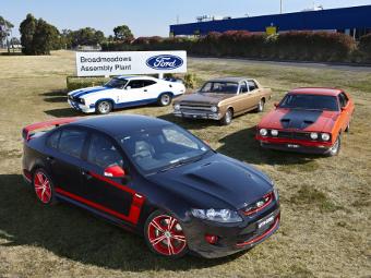 """Ford завершит выпуск """"заряженных"""" машин для Австралии спецверсией"""