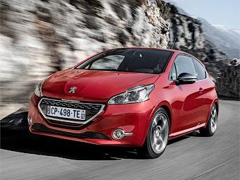 """Названы рублевые цены на """"заряженный"""" Peugeot 208"""