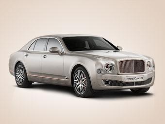 Компания Bentley построила первый гибрид