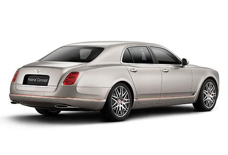 Первый гибридный Bentley появится в серии в 2017 году. Фото 1