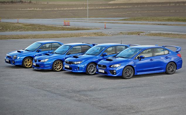 Знакомимся с новой Subaru WRX STI, сделавшей шаг назад и два вперед. Фото 2