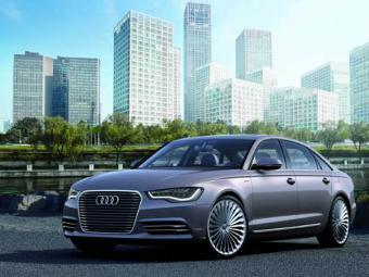 Audi запустит в серию удлиненный гибридный седан A6