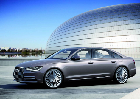 Седан Audi A6 L e-tron сможет проехать на электротяге 50 километров
