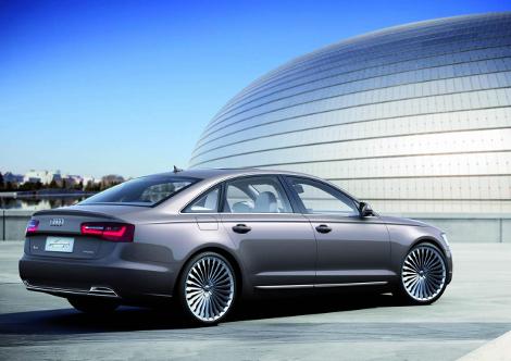 Седан Audi A6 L e-tron сможет проехать на электротяге 50 километров. Фото 1