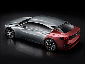 Компания Peugeot рассекретила хэтчбек с «акульей кожей»