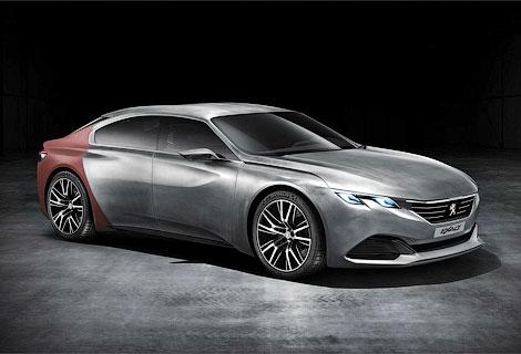 Французы построили к Пекинскому автосалону концепт-кар Exalt