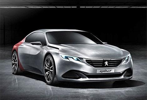Французы построили к Пекинскому автосалону концепт-кар Exalt. Фото 2