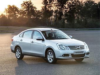 Российский седан Nissan Almera получил новую комплектацию