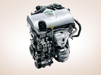 У «Тойоты» появились два новых бензиновых двигателя