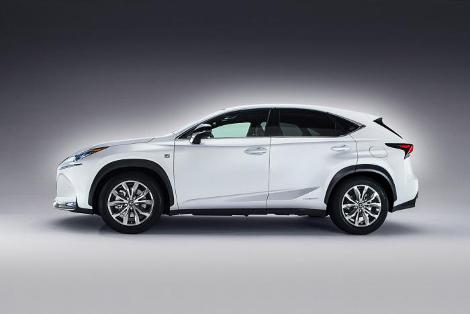 Вседорожник Lexus NX получил гибридную установку и турбомотор