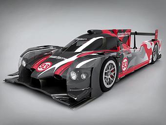 """""""Хонда"""" показала новую машину для гонок на выносливость"""