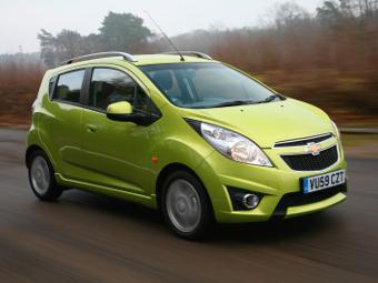 Chevrolet отзовет в России компакт-кары Spark