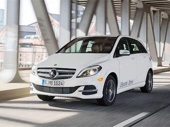 Mercedes-Benz начал выпуск электрического B-Class