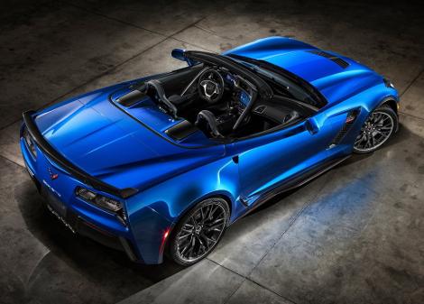 В Нью-Йорке дебютирует самый мощный открытый Chevrolet в истории