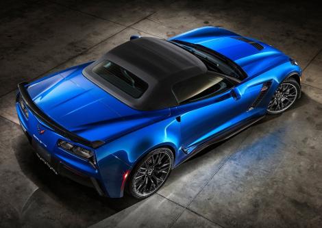 В Нью-Йорке дебютирует самый мощный открытый Chevrolet в истории. Фото 2
