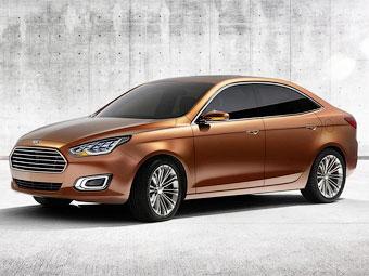 Ford подтвердил запуск в серию седана Escort