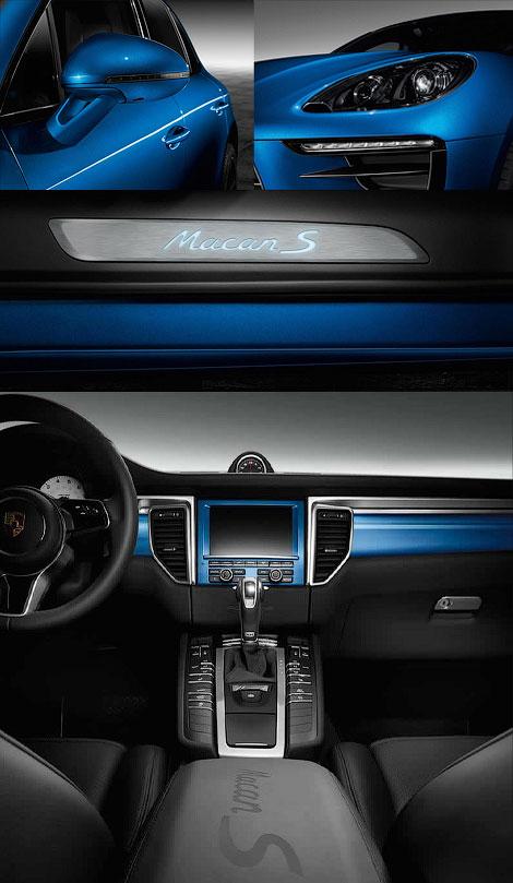 У кроссовера Macan S появилась специальная модификация Exclusive. Фото 2