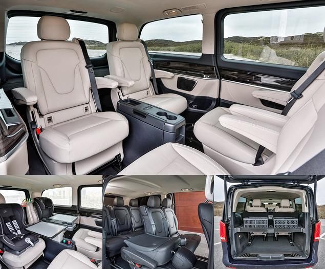 """Тест-драйв минивэна Mercedes-Benz V-Class, который мечтает стать """"эс-классом"""". Фото 4"""