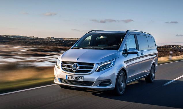 """Тест-драйв минивэна Mercedes-Benz V-Class, который мечтает стать """"эс-классом"""". Фото 7"""