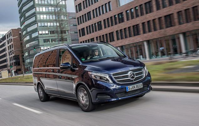 """Тест-драйв минивэна Mercedes-Benz V-Class, который мечтает стать """"эс-классом"""". Фото 9"""