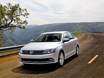 Седан Volkswagen Jetta обновился