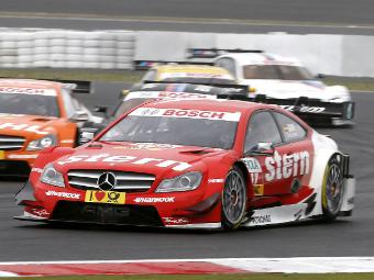 Победителей гонок DTM будут наказывать балластом