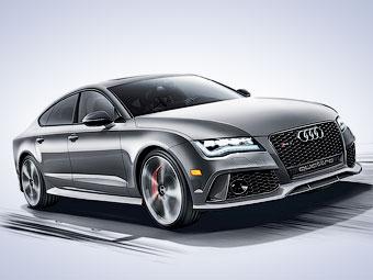 Новый вариант Audi RS7 оказался дороже суперкара R8
