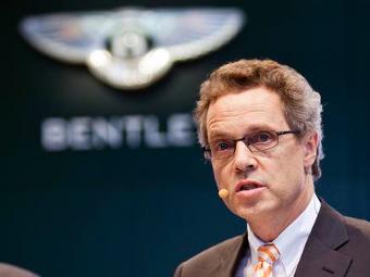Уволенный из Audi топ-менеджер возглавит Bentley