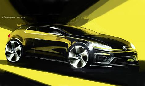 На Пекинском автосалоне покажут прототип самой мощной модификации Golf