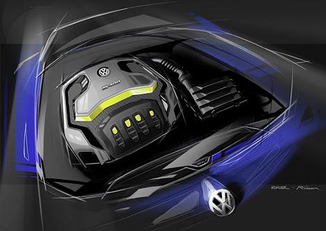 На Пекинском автосалоне покажут прототип самой мощной модификации Golf. Фото 1