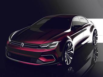 Volkswagen подготовит конкурента седану Mercedes-Benz CLA