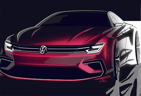 """Появились изображения """"cреднеразмерного купе"""" Volkswagen. Фото 1"""