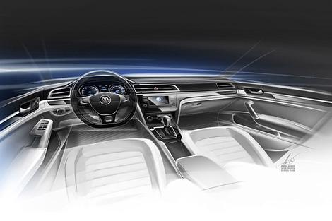 """Появились изображения """"cреднеразмерного купе"""" Volkswagen. Фото 2"""