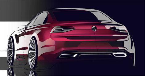 """Появились изображения """"cреднеразмерного купе"""" Volkswagen. Фото 3"""