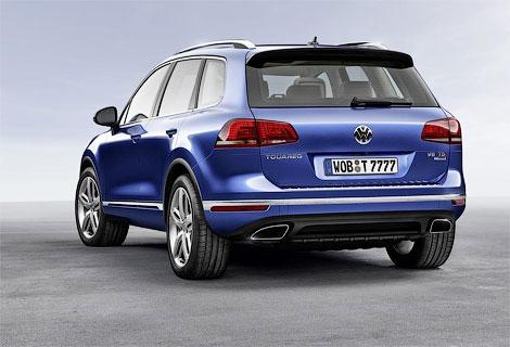 Опубликованы фотографии обновленного Volkswagen Touareg