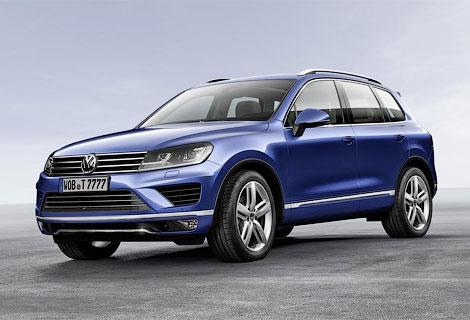 Опубликованы фотографии обновленного Volkswagen Touareg. Фото 1