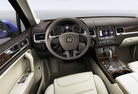Опубликованы фотографии обновленного Volkswagen Touareg. Фото 2