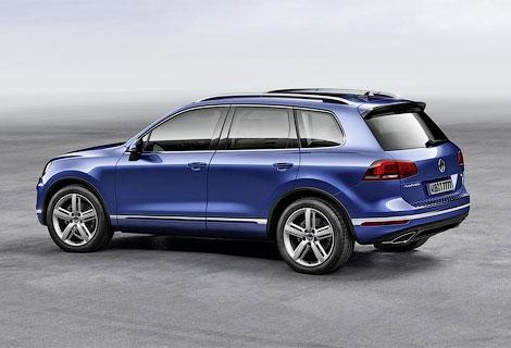 Опубликованы фотографии обновленного Volkswagen Touareg. Фото 3