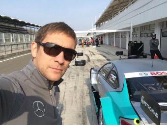 Петров уступил напарнику по Mercedes-Benz на тестах DTM в Германии