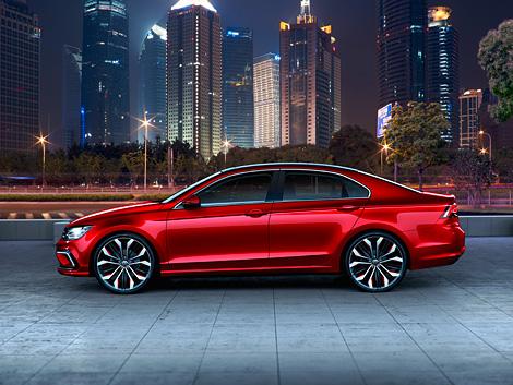 Премьера концепта Midsize Coupe прошла на Пекинском автосалоне