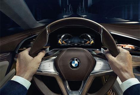 Новинку BMW оснастили открывающимися против хода движения дверьми. Фото 2