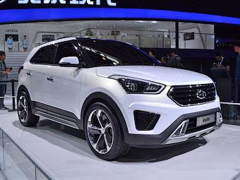 Hyundai сделала для китайцев маленький кроссовер