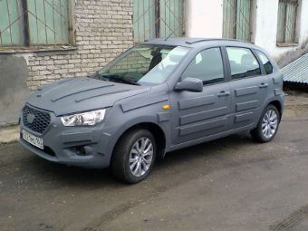 Сфотографирован хэтчбек Datsun для России