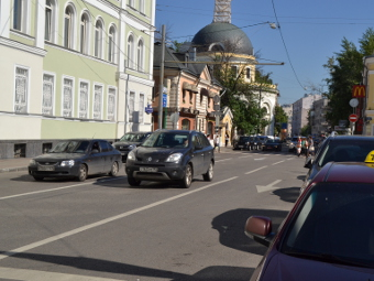 В центре Москвы понизят максимальную скорость