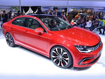 Volkswagen выпустит конкурента Mercedes-Benz CLA
