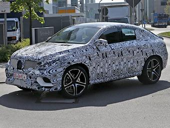 Mercedes-Benz вывел на испытания конкурента BMW X6