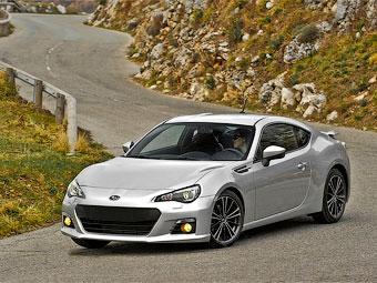 Компания Subaru отказалась от «заряженного» купе BRZ