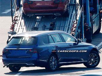 Фотошпионы раскрыли внешность универсала Mercedes-Benz C-Class